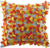 3D flower dot throw pillow cushion cover