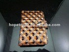 2012 fashion leather wallets with a button