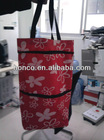 FOLDING WHEEL SHOPPING TROLLEY BAG