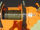 Pneumatic 10 ton air driven Winchs/ air tugger manufacturer