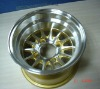 10x7 ET 15.5 Machined wheel