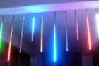LED meteor shower light tube