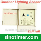 Din Rail Outdoor Lighting Sensor