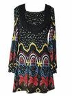 ladies' cotton dress/ fashion dress/summer dress(054)