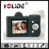Rubber fashion mini camera with TF card and lithum battery DC30ES