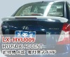 Fibre glass rear spoiler for Hyundai ACCENT A