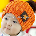 2012 Baby hat new designs Baby Hat, Fashion Star Candy Colored Wool Cap, Baby Winter Hat, Wholesale