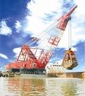 Grab dredger (dredger,floating crane,barge crane)