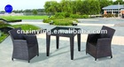 2012 PE rattan furniture dining set