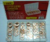 110pcs copper washer kit
