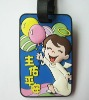 promotion pvc luggage tag