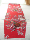 Plum blossom table runner/table cloth