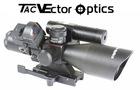 Vector Optics 2.5-10x40 Riflescope Green Laser Sight Red Dot Scope & Mount Combo
