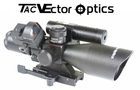 Vector Optics 2.5-10x40 Riflescope Green Laser Sight Red Dot Scope & Mount Combo