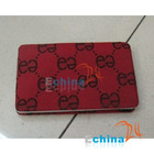 FABRIC Aluminum Patch BUSINESS NAME CREDIT CARD CASE HOLDER