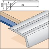 metal tile trim-Angle Edge - Self Adhesive-Edgings & Trims for Wood/Laminate Floors