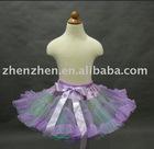 Newest style CS-027 zhenzhen three layers tutu pettiskirt