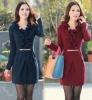 lady's fashion dress for autumn