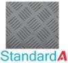 Checker rubber matting