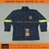 Dark Blue Waterproof Security Jacket