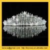 imperial round rhinestone star Tiaras crown