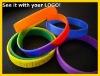Promotional soft PVC bracelet