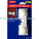 plastic child safety hatch lock