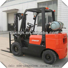 2.5T Lpg and Gasoline Powered Forklift with 4.5M Lifting Height and Nissan Engine