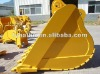Large volume volvo excavator bucket for Volvo excavator 460 2.4m3