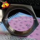 stainless steel screwed hexagon nut