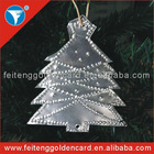 Custom Aluminum Christmas Ornament/Logo Printing Aluminum Christmas Ornament