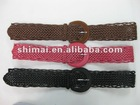 lady PU leather fashion belt