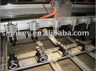 wood handrail engraving machine