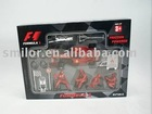 Friction Power Formula Car Set, Kid Toy Cars