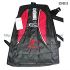Red Polyester Fabric Sports Backpacks