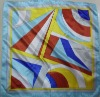 Brand new square silk neck scarf for office lady in good quality