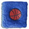 2012 High Quality Terry Towel Sport Sweatband/Sweat Band With Embroidery Logo