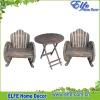 wooden wheel style garden furniture