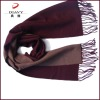 cashmere double faces scarf with fringe, warm scarf and shawl