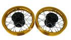 AL.wheels of dirt bikes