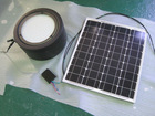 20W solar garden light