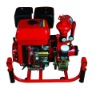Fire equipment BJ-7G trailer mounted mobile fire pump