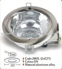 aluminum recessed down light