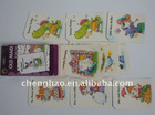 children paper game playing cards