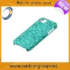 Blue frosted water cases for iphone