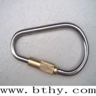 Titanium keychain