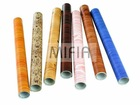 PVC wooden self-adhesive film