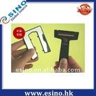 Hot sale men's manual credit card razor, shaving razor blades
