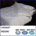 YAGAO 100%Cotton 400TC White Duck Down Duvet, WDD90