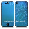 for iPhone 4S Color Plated Screen Protector- rhombus design
